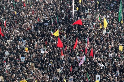 'Millions' mourn slain Iranian general in Tehran, chant 'death to America'