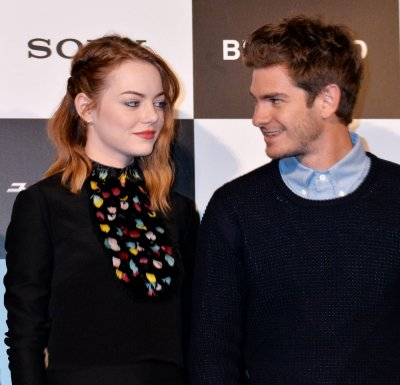 Emma Stone, Andrew Garfield confront paparazzi with another charitable message