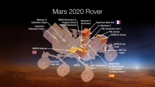 Mars to get newer, more high-tech rover in 2020