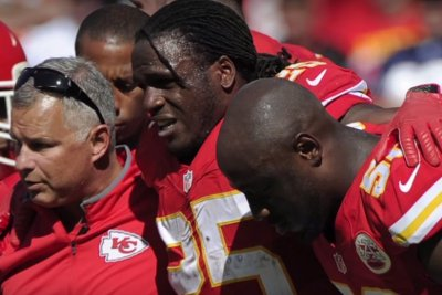 Kansas City Chiefs RB Jamaal Charles out with knee injury