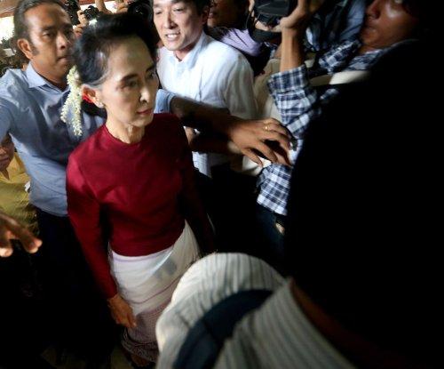 Gas-rich Myanmar still under sanctions pressure
