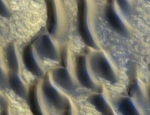 Dark regions on Mars may be volcanic glass
