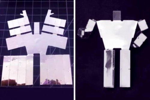 Easy bake robot: MIT develops 3D-printed, self-assembling robot