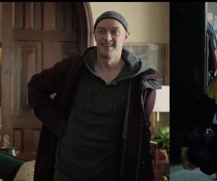 James McAvoy changes body, personality in second 'Split' trailer