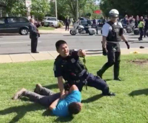 Nine injured in violence at Washington's Turkish Embassy