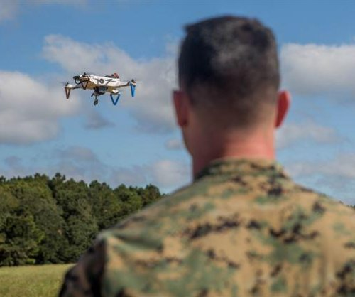Marines test 3D-printed small drones
