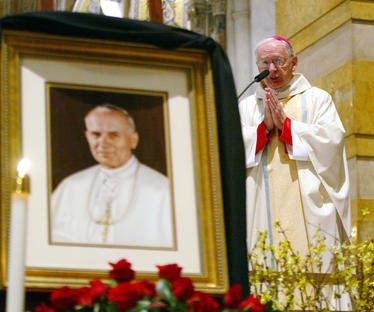 On This Day: Pope John Paul II dies at 84