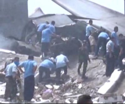 At least 38 dead in C-130 military plane crash in Indonesia