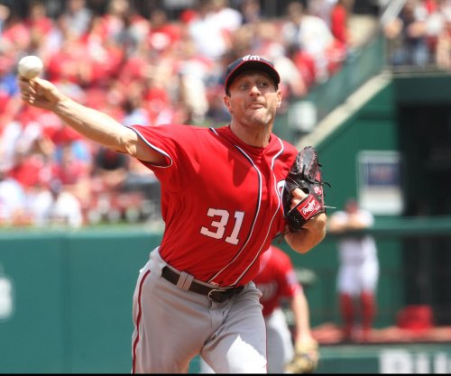 Max Scherzer fans 11 as Washington Nationals beat Chicago Cubs