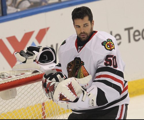 Chicago Blackhawks G Corey Crawford undergoes appendectomy