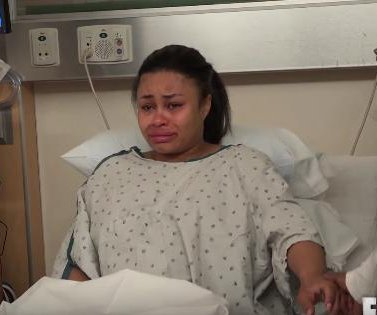 Blac Chyna cries before C-section in 'Rob & Chyna' preview