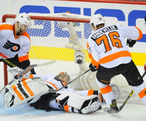 Rookie G Anthony Stolarz rescues Philadelphia Flyers after Michal Neuvirth collapses