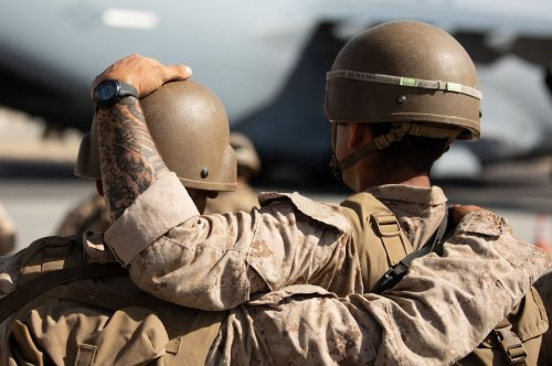 Four Marines remain hospitalized month after suicide bombing at Afghan airport