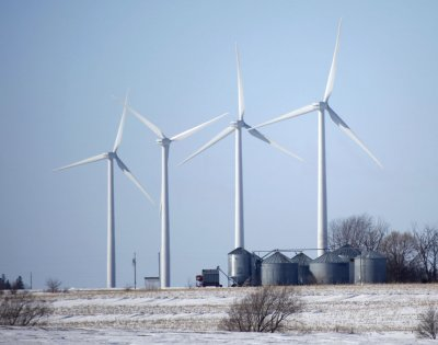 Scorn erupts over French wind farm plans