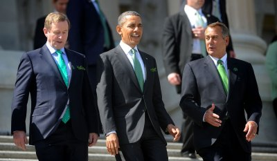 Obama, Biden to celebrate St. Patrick's Day with Irish prime minister