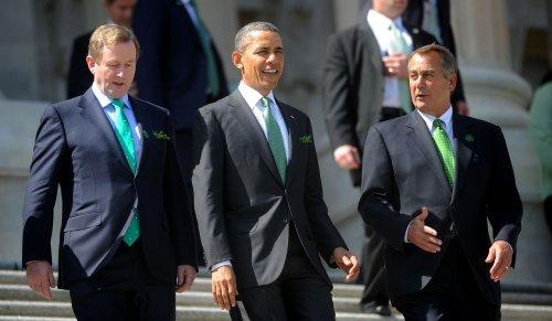 Obama, Biden to celebrate St. Patrick's Day with Irish prime minister