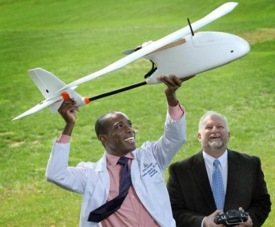 Drones may soon carry blood samples to the lab