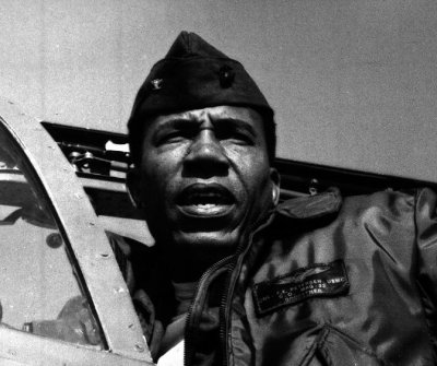 Frank Petersen, first black Marine aviator and general dead at 83