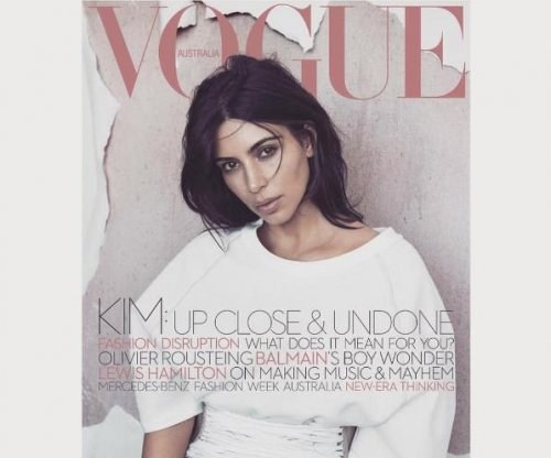 Kim Kardashian covers first magazine since son's birth