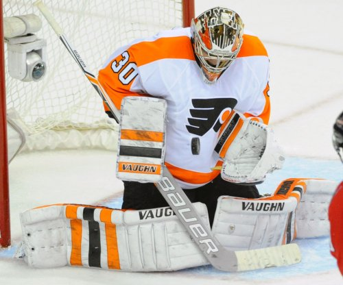 Philadelphia Flyers G Michal Neuvirth recovering after scary collapse during game