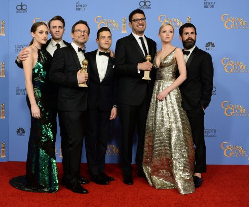 'Mr. Robot' stars attend Emmy Rossum, Sam Esmail's wedding