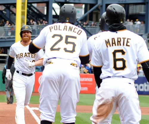 Pirates' Moran hits grand slam in first at-bat at PNC Park