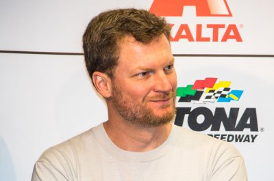 Dale Earnhardt Jr. celebrates second child's birth: 'She's here'