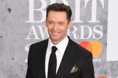 Hugh Jackman rehearses for 'The Music Man' in new video