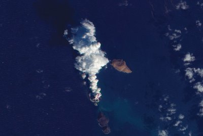 New island rising from Red Sea