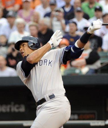 MLB: New York Yankees 4, Baltimore 0