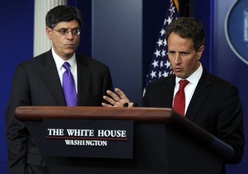 Report: Lew Obama's Treasury Dept. choice