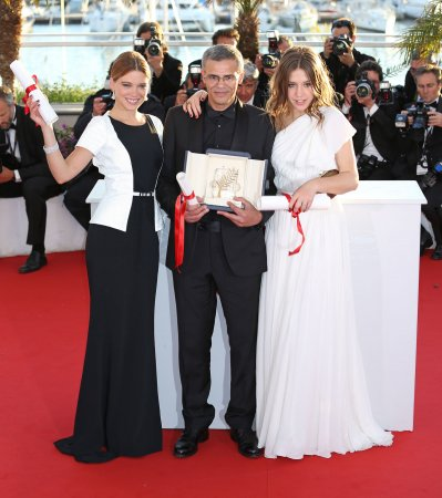 'Blue is the Warmest Color' wins top prize at Cannes