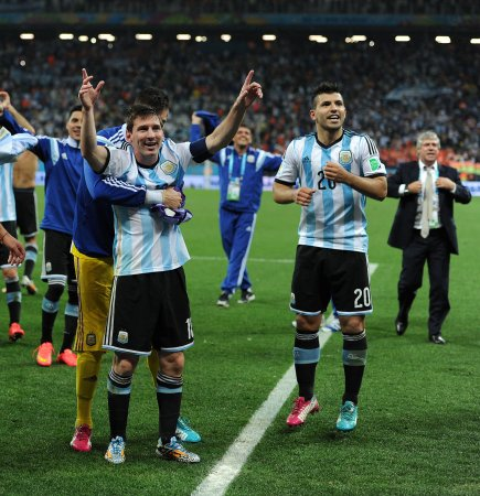 Lionel Messi misses Argentina's World Cup win celebration for doping test