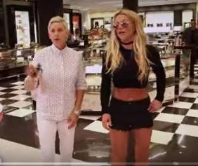 Ellen DeGeneres and Britney Spears 'take advantage of the celebrity lifestyle'