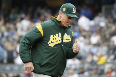 A's looking to sweep aside visiting Indians