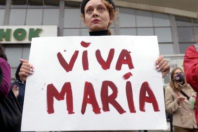 U.S. demands Belarus release Maria Kolesnikova after abduction