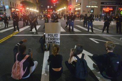 City report says police in LA mishandled George Floyd protests last year