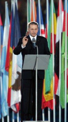 IOC president expects 30-40 drug cheats