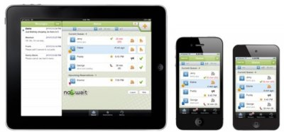 Smartphone app helps in restaurant seating