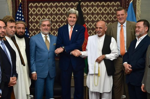 Ashraf Ghani sworn in as Afghanistan's new president