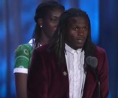 Jamaal Charles speaks of time in Special Olympics