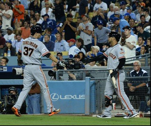 Kelby Tomlinson's inside-the-park homer sparks San Francisco Giants' win