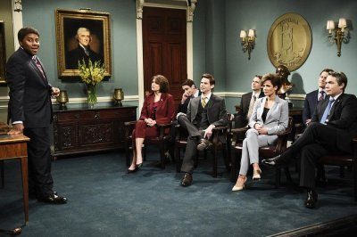 'SNL' tackles race issues with Virginia politician, Liam Neeson, Gucci jokes