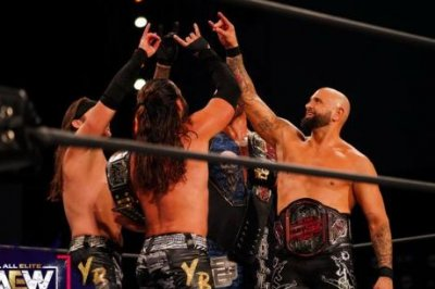 AEW Dynamite: Young Bucks and Good Brothers take on Dark Order
