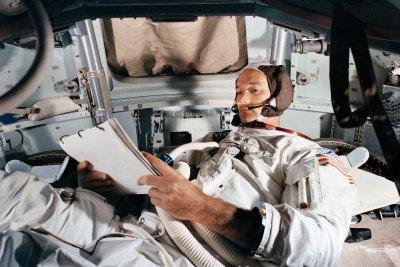 Michael Collins, NASA astronaut, pilot for 1969 moon landing, dies at 90