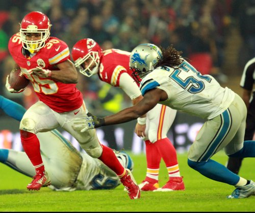 Chiefs' running game goes south, then West