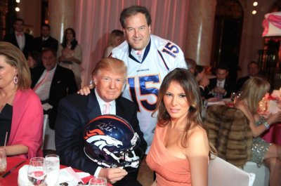 Donald Trump used charity money to buy Tim Tebow gear