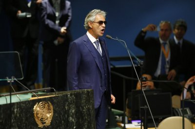 Antonio Banderas, Toby Sebastian start work on Andrea Bocelli biopic in Rome