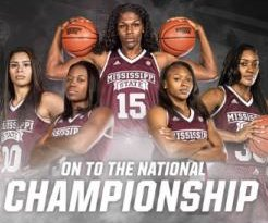 Mississippi State Bulldogs end UConn Huskies' 111-game win streak, advance to title game