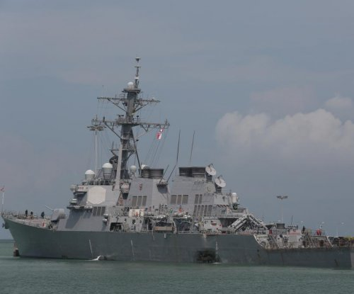 Navy memo outlines upcoming review following deadly destroyer collisions